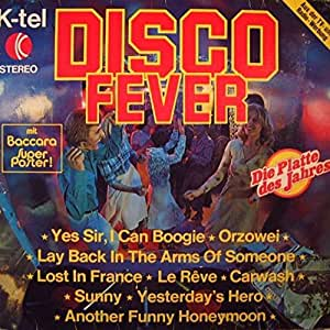 Various - Disco Fever - K-Tel International (Austria)