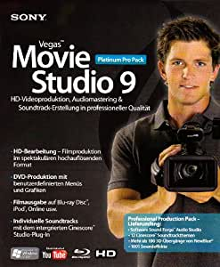 Sony Vegas Movie Studio 9 Platinum Pro-Pack