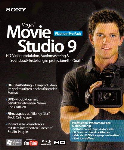 Sony Vegas Movie Studio 9 Platinum Pro-Pack -