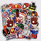 Lot de 50pcs Stickers / autocollants Super heros marvel