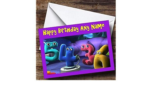 Personalised The Numberjacks Birthday Card Amazoncouk Office – Numberjacks Birthday Card