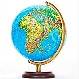Magnetic Rotating Globe 32Cm inch Globus - 2 in 1 World Globe & Beleuchtete Konstellation Karte Pädagogisches Geographisches Lernen Spielzeug
