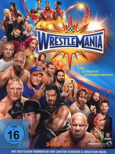 Wrestlemania 33 [3 DVDs] - Wwe-wrestlemania
