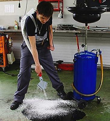 Granomax 5 Streuer für Salz Dünger Rasensamen bis 4mm Korngröße 6,5 Liter Beutel