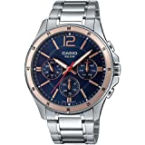 Casio Analog Blue Dial Men's Watch-MTP-1374D-2A2VDF (A1745)