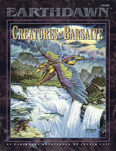 Creatures of Barsaive: An Earthdawn Sourcebook by FASA Corporation (1-Aug-1995) Paperback