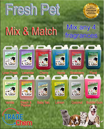 4-x-5l-fresh-pet-kennel-cattery-disinfectant-and-deodoriser-mixed-fragrance-pack-used-by-kennels-and