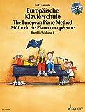 Produkt-Bild: Europäische Klavierschule: Band 1. Klavier. Ausgabe mit CD.