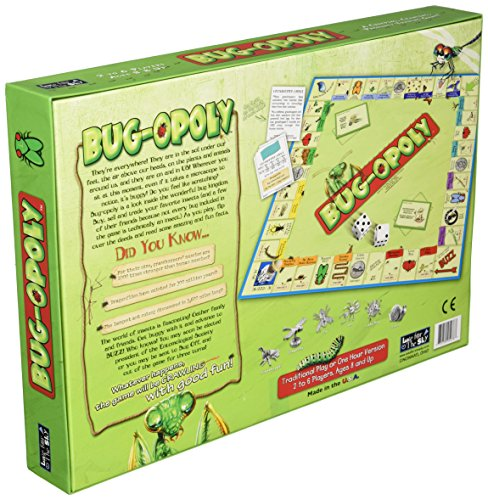 Late for the Sky Bug Opoly Monopoly Board Game