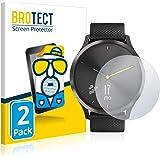 BROTECT Protector Pantalla Anti-Reflejos Compatible con Garmin vivomove HR (2 Unidades) Pelicula Mate Anti-Huellas