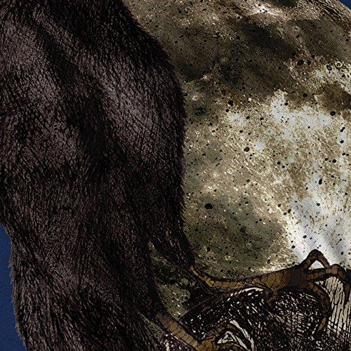 Krähe Mond Vogel Kunst Tier Dunkle Seite Damen S-2XL Muskelshirt | Wellcoda Marine