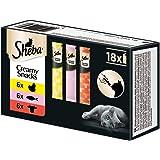Sheba Creamy Snacks Kattmat, Paket med 18 x 12 g