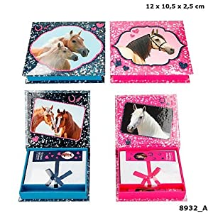 Top Model Horses Dreams Caja notastirador (008932), Multicolor (DEPESCHE 1)