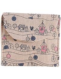 F : Kingko Women Girl Cute Sanitary Pad Organizer Holder Sanitary Pad Portable Storage Bag Napkin Towel Convenience...