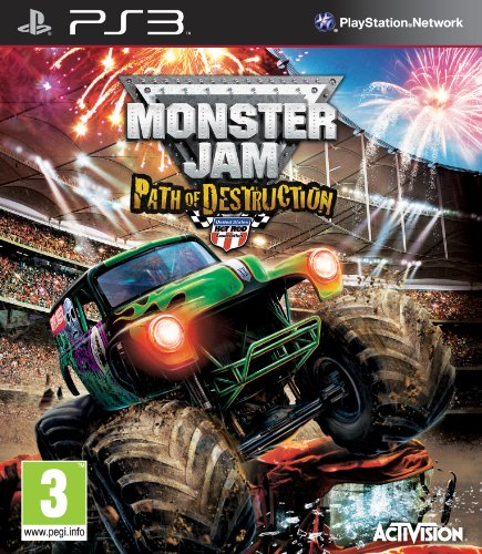 Monster Jam: Path of Destruction (Sony PS3) [Import - Monster Spiele Jam