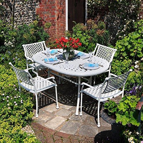 june-set-mobili-da-giardino-con-tavolo-ovale-95x150cm-e-4-sedie-emma-in-alluminio