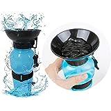 THREE DOT Water Bowl Bottle Sipper Portable Aqua Dog Outdoor Travel Water Bottle Bowl 18-oz Dog Bottle Auto Dog Mug for Pets