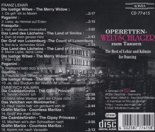 Operetten-Weltschlager zum Tanzen - 2