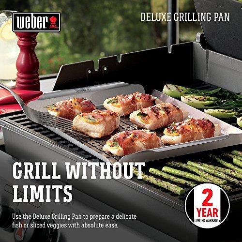 61RgWv3MbML - Weber® Deluxe Grillpfanne