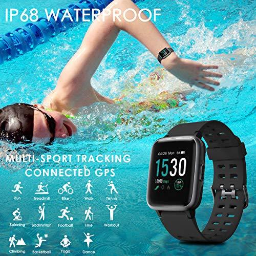 Zoom IMG-2 chereeki fitness tracker smartwatch ip68