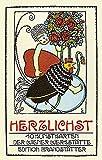Herzlichst: 10 Kunstkarten der Wiener Werkst�tte