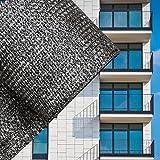Sichtschutz Balkonsichtschutz Anthrazit 75cm Balkonverkleidung Windschutz Balkon Sichtblende