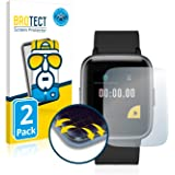 brotect Pellicola Copertura Completa Compatibile con Yamay Fitness Tracker SW020 (2 Pezzi) Full-Cover 3D Curvo