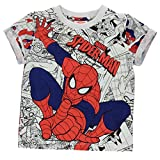 Character Bambino Manica Corta T Shirt Grafica Girocollo Maglietta Casual Spiderman 5/6 anni
