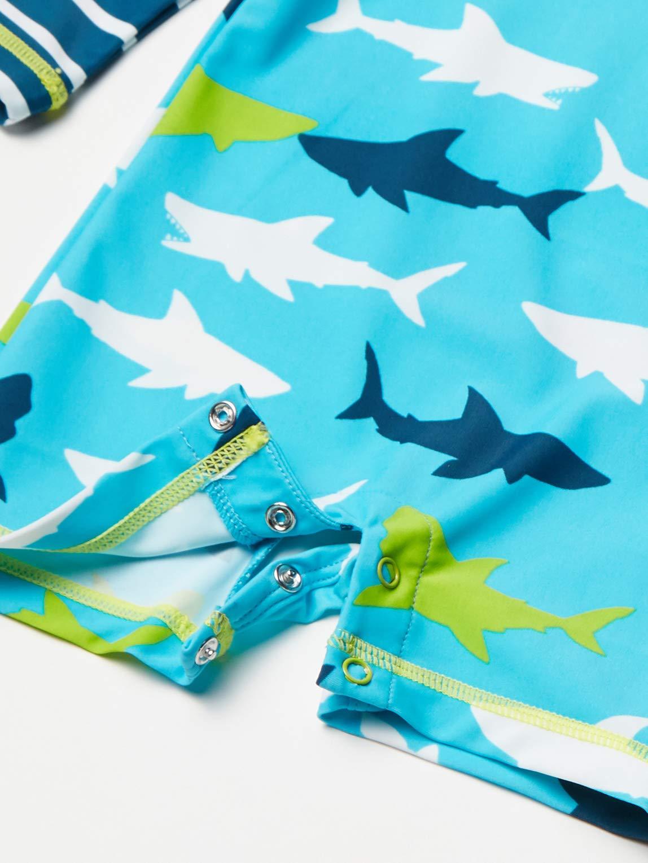 Hatley One Piece Rash Guard Swimsuits Traje de baño de una Pieza para Bebés 3