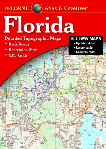 s & Gazetteer: [Detailed Topographic Maps: Back Roads, Recreation Sites, GPS Grids] (Delorme Atlas & Gazetteer) ()