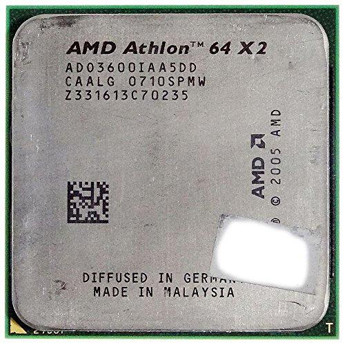 CPU / Prozessor AMD Athlon 64 X2 3600+ 1.9 GHz ADO3600IAA5DD Dual-Core ID17105 (Prozessor Amd Athlon 64 X2)