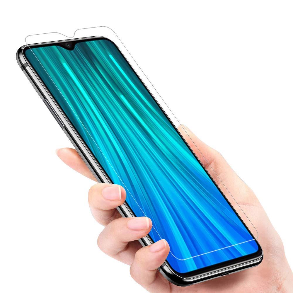 dureza 9H 3 Unidades Anti-Ara/ñazos Xiaomi Redmi Note 8 Pro Cristal Templado Xiaomi Redmi Note 8 Pro Vidrio Templado pel/ícula Protectora ANKENGS Protector de Pantalla para Xiaomi Redmi Note 8 Pro