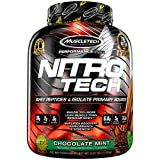 MuscleTech NitroTech Whey Isolate Chocolate Mint, 4 lbs - Best Reviews Guide