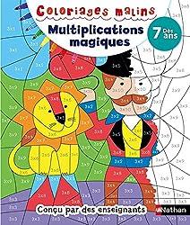 Coloriages magiques Multiplications - Dès 7 ans