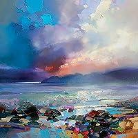 "Scott Naismith WDC95558 ""Lacuna"" Canvas Print, Cotton, Multi-Colour, 3.20 x 40.00 x 40.00 cm"