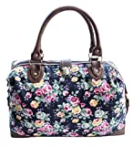 Best Overnight Bags For Women - New Womens Canvas Weekend Overnight Bag Ladies Large Review
