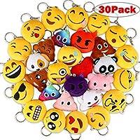 Aiduy Mini Emoji Keyrings, 2