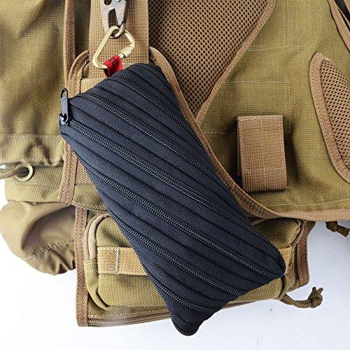 Utility Conch EDC Pocket Tasche Neues Design Bleistift Tasche Schwarz