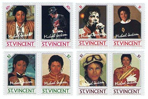 michael-jackson-neuf-sans-charnire-timbres-sg-940-947-8-timbres-mis-1985-saint-vincent-mnh