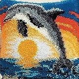 25 Modell Latch Hook Kit Animal Cushion Cover DIY Craft