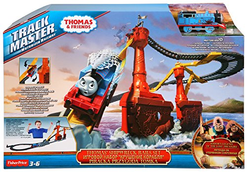 fisher-price-cdw87-la-pista-dei-pirati-di-thomas
