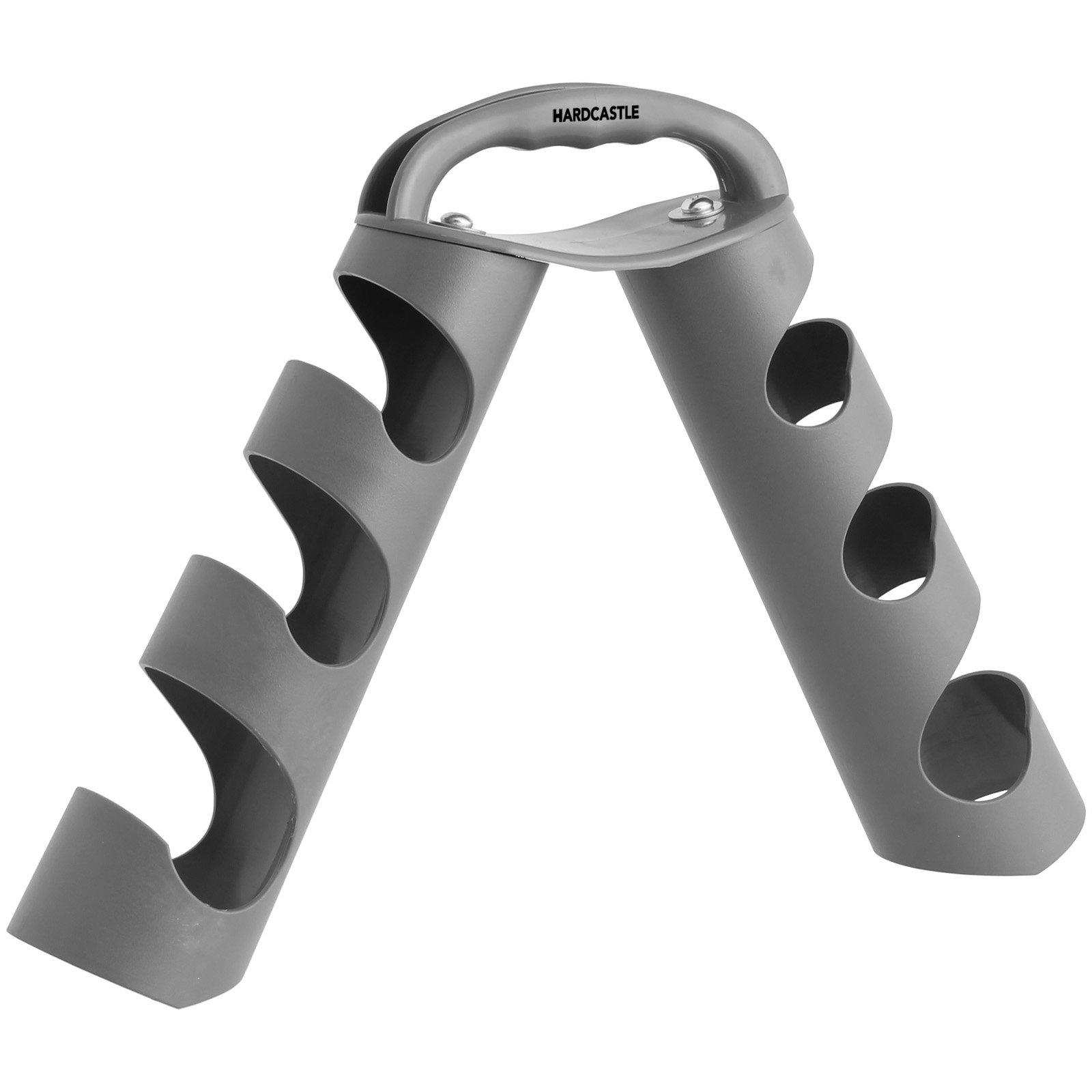 Hardcastle - Rastrelliera porta manubri - grigio
