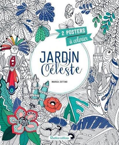 Jardin céleste : 2 posters à colorier par Marica Zottino