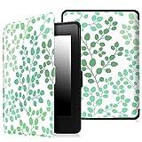 Fintie EKD0129EU - Custodia per e-book reader Kindle Paperwhite (Adatto Tutte le versioni: 2012, 2013, 2014 e 2015 Nuovo 300 ppi), Multicolore (Leaf Breeze)