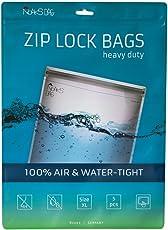 Noaks Bag | Schutzhülle, ZIP-Beutel, Dry-Bag | Größe XL – 5 Stück | 100 % wasserdicht, geruchsdicht & sicher | Für Urlaub, Sport & Reisen | Das Original