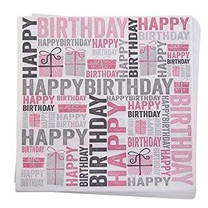 Neviti 674599feliz cumpleaños-servilletas