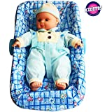 Kiditos Baby Carrier Basket Toy Baby with Sound Function - Blue
