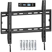 Amazon Brand - Eono Fixed TV Wall Bracket, Ultra Slim TV Wall Mount for Most 26-55 inch LED, LCD OLED and Plasma TV with…