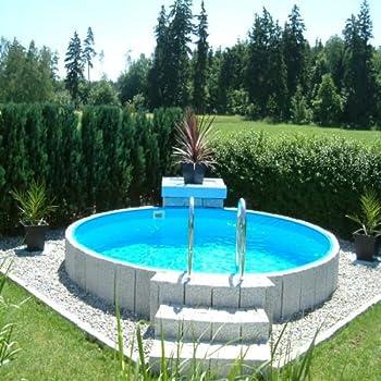 Beliebt Stahlwandpool 3,00 x 1,20 Pool Rundpool 3 m Swimmingpool 3,0 x 1,2 ZR09