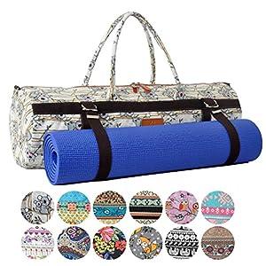 #DoYourYoga XL Yogatasche »Malati 100% Cotton-Edel-Canvas (Segeltuch), für Yoga-, Pilates-, Fitness- und Gymnastikmatten bis zu Einer Größe von 186 x 62 x 1,5 cm, in 12 Designs